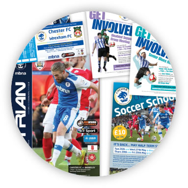 Chester FC Posters